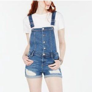 Tinseltown Distressed Romper. S,M,L,XL. 98% Cotton
